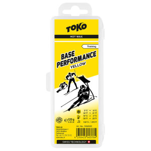 Безфтористый парафин TOKO Base Performance yellow 120g 5502035