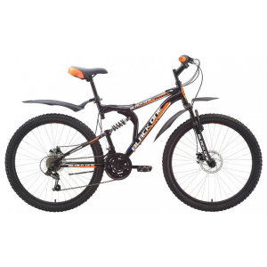 Велосипед Black One Totem 26' Black/Orange 2014-2015