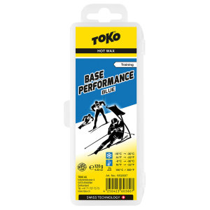 Безфтористый парафин TOKO Base Performance blue 120g 5502037