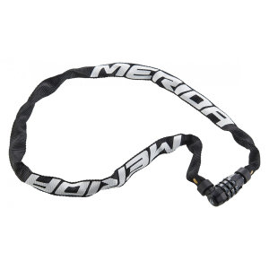 Замок противоугонный Merida 3 Digits Combination Chain Lock 90см, 370гр. Black/White (2134002651)