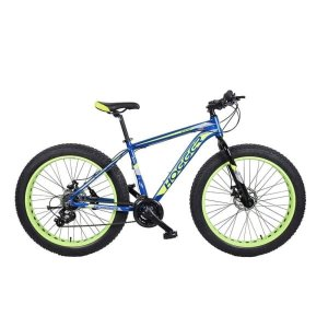 Велосипед 26' Hogger Fat Bike AL MD Yellow/Blue