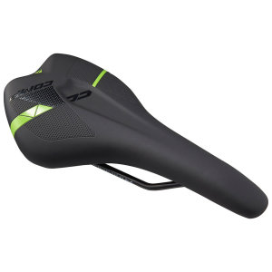 Седло Merida Comp CC, Sport 155mm 332гр. Matt Black/ Glossy Green (2070079517)